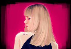 #BLACKPINK #LISA #FANART