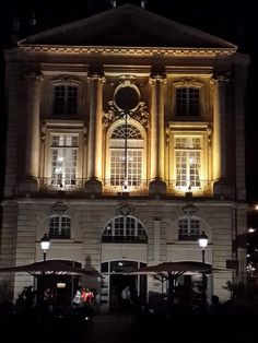 one of the best Michelin restaurant of Bordeaux - LA GABRIEL - is settled in this old building