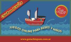 Juegos online para bebes de 2 años. Paseo en el mar
