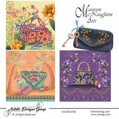 Arist Maureen McNaughton | visit maureen s website strokework is what drew maureen mcnaughton to ...