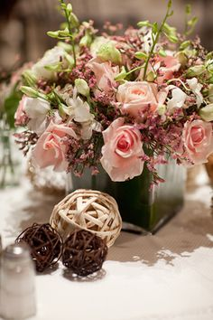 DIY flowers for Vero Beach November Wedding Diy Flowers, Wedding Flowers, Wedding Day, Pink Centerpieces, Centerpiece Ideas, Shabby Chic Theme, November Wedding, Pink Parties, Best Day Ever