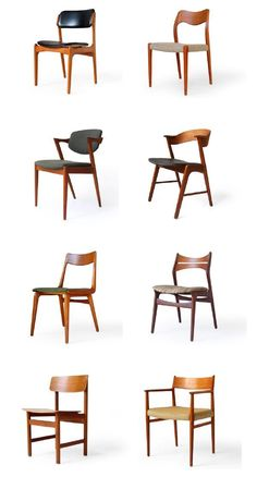 danish + scandinavian mid-century chairs www.scandinavianmod.com
