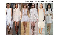 How to find the perfect Little White Dress for your Spring wardrobe. The LWD has sparked excitement on Spring fashion runways like; Stella McCartney, Louis Vuitton, Chloe, Valentino and Chanel. Keep an eye out for your perfect LWD from #KAS and #Roul. #ZindigoDaily #Zindigo #KareenMallet