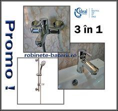 Baterii baie IdealStyle in promotie Toilet Paper, Door Handles, Sink, Decor, Faucet, Door Knobs, Sink Tops, Vessel Sink, Decoration