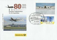 """Am 19. und 20. September wird in Dresden anlässlich des 80-jährigen Bestehens des Airports Dresden ein Flughafenfest gefeiert. Auch ein """"Erlebnis: Briefmarken""""-Team der DPAG ist dabei und hat einen..."""