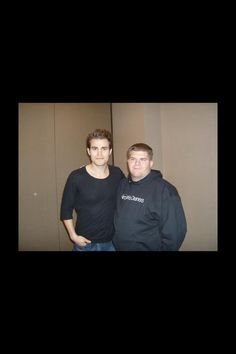 Me with Paul Wesley