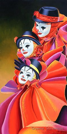 Clown Paintings, Indian Art Paintings, Famous Artists Paintings, Art Sketches, Art Drawings, Art And Illustration, Portrait Art, Painting & Drawing, Amazing Art