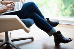 It's a common sitting position, but crossing your legs could carry health risks.