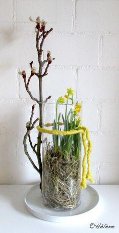 Daffodils # spring flowers daffodils - Osterdeko - Home flw Corner Deco, Indoor Gardening Supplies, Daffodil Flower, Deco Floral, Blog Deco, Decoration Table, Ikebana, Daffodils, Spring Flowers