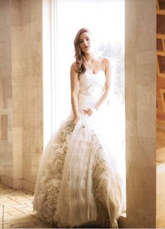This is so beautiful. Bridal Gowns, Wedding Gowns, Full Skirts, Silk Satin, One Shoulder Wedding Dress, Ball Gowns, Dream Wedding, Tulle, Romantic
