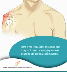 In some cases, shoulder surgery is recommended right away. In other cases, surgery is recommended only if shoulder instability persists after nonsurgical treatments, such as rest,  ice and physical therapy. A Surgeon determines this option based on many factors including nature of injury, age and  activity level of patient.  For enquiries and online appointments, send a message @ www.BangaloreShoulderInstitute.com/contact #ShoulderDislocation #FirstTimeShoulderDislocation Shoulder Replacement Surgery, Shoulder Surgery, Joint Replacement, Shoulder Arthroscopy, Knee Arthroscopy, Shoulder Doctor, National Board Certification, Shoulder Dislocation, Shoulder Problem