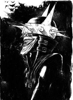 The Artistic Endeavor — The Art Of Christian DiBari Comic Villains, Comic Book Characters, Comic Character, Batman Joker Wallpaper, Joker Wallpapers, Joker Dc Comics, Dc Comics Art, Batman Metal, Batman Art