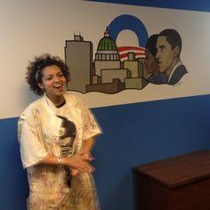 Artiste proud of her work in Harrisburg