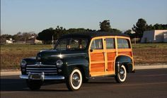 1948 Ford Super Deluxe Woodie Wagon for sale by owner on Calling All Cars https://www.cacars.com/Car/Ford/Super_Deluxe/Woodie_Wagon/1948_Ford_Super_Deluxe_for_sale_1013259.html