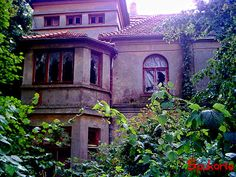 Abandoned and haunted: Alte Villa, Verden/Aller. There are many reports of strange lights and sounds coming from the mansion at night, a lot of people had seen ghostly shadows and figures moving behind the windows and in the garden of the old house...