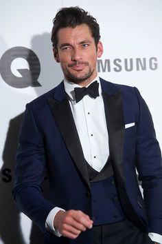 David Gandy attend the GQ Men Of The Year Award 2014 at the Palace Hotel on November 3, 2014 in Madrid, Spain