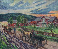 Marcus Collin (1882-1966): Kotiinpaluu, 1932