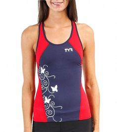TYR Women's Competitor Print Fitted Tankini 7534432