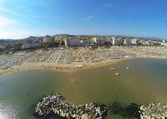 riviera cattolica in volo #spiaggiacattolica