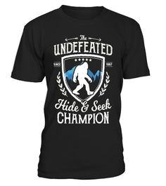 """# Bigfoot Undefeated Hide and Seek Champion Sasquatch T Shirt .  Special Offer, not available in shops      Comes in a variety of styles and colours      Buy yours now before it is too late!      Secured payment via Visa / Mastercard / Amex / PayPal      How to place an order            Choose the model from the drop-down menu      Click on """"Buy it now""""      Choose the size and the quantity      Add your delivery address and bank details      And that's it!      Tags: Bigfoot Undefeated Hide…"""