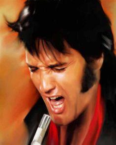 Elvis Presley by Diamond1871