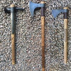 Yeah so, while you're surviving the #zombieapocalypse ... What's in your hand? #hammer #axe or #hawk ❓❓❓❓❓❓❓ ⚒ #skollandhati #coldsteel #warhammer #vikinghandaxe #frontierhawk #norsemythology #vikings #axe #tomahawk #weapon #blade #runes #axejunkies #odin #viking #lotr #art #gameofthrones #warrior #thor #mjolnir #asatru #norse #vikingshit #thewalkingdead #twd