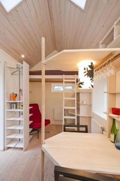 Tiny house interior by christy