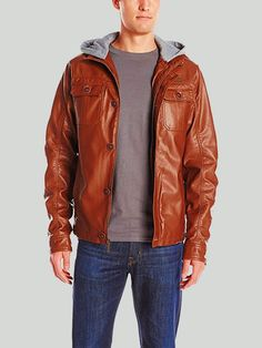 c7a39b95d 156 Best Mens Faux Leather Jackets images in 2018 | Faux leather ...