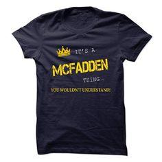 Its MCFADDEN - #victoria secret hoodie #sweater dress outfit. ADD TO CART => https://www.sunfrog.com/Names/Its-MCFADDEN.html?68278