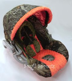Small Sprouts: Camo Baby.. this is perfect and matches our car!!!