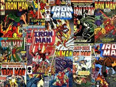 Comics Iron Man picture for desktop and wallpaper