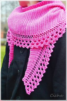 Ravelry: Sweetness and light Shawl pattern by Anna Rauf