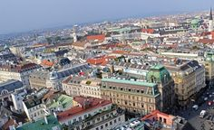 Innere Stadt Wien 1010. Vienna Austria, Aerial View Paris Skyline, Travel, City, Viajes, Destinations, Traveling, Trips
