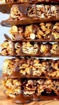 The Best Dang Granola Bars Ever #granola #bars #recipe