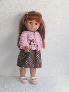 Robe et gilet pour poupée Soy Tu
