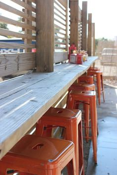We have a seat waiting just for you. Come hang out with us during lunch, dinner, or even a mid-day juice!