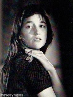#charlottegainsbourg Charlotte Gainsbourg 1991
