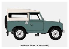 Land Rover 88, Car Up, Landrover Defender, Taxi, Bold Colors, Marketing And Advertising, Vector Art, Landing, Motors