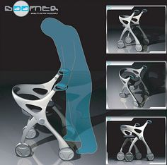 Five innovative walking aids to assist people with disabilities   Designbuzz : Design ideas and concepts