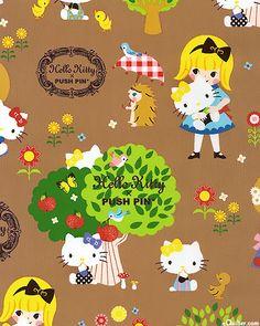 Japanese Import - Hello Kitty Alice In Wonderland - Chocolate