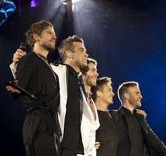 i have this same picture,but like i said,none of my own will be going on here:) standing to get brill pics,that i don't want any tom dick or harry to come and pinch! Take That Band, Howard Donald, Jason Orange, Mark Owen, Gary Barlow, Celtic Thunder, Robbie Williams, Latest Music, Cool Bands