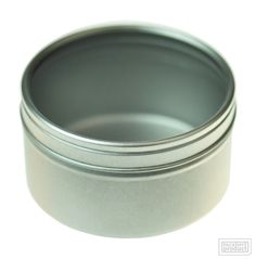 Seamless Tin with Clear Lid