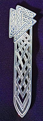 Silver Beasties Celtic Jewelry - Celtic Kilt Pin