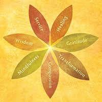 ~ Mindfulness, Wisdom, Service, Healing, Gratitude, Transformation, Compassion ~ Flower of Spirituality ~