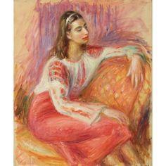 William Glackens American 1870-1938, Natalie ca. 1936