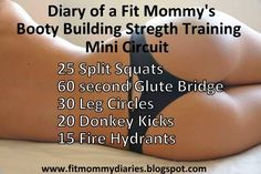 Booty Building Strength Training MiniCircuit