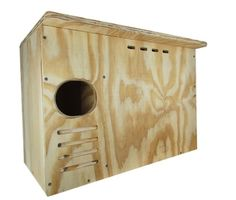 Barn Owl Nesting Box Large House Crafted in USA JCs Wildlife w *** You can find out more details at the link of the image. Bird House Plans, Bird House Kits, Owl House, Owl Nest Box, Owl Box, Screech Owl, Owl Family, Bird Aviary, Great Horned Owl
