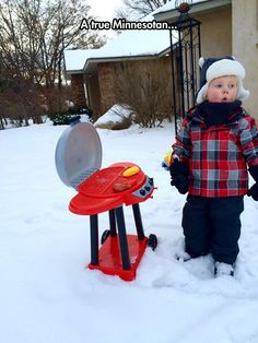 It's Never Too Cold For Grilling