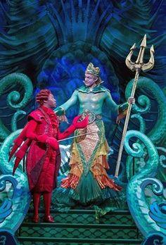 the little mermaid jr   Scene from Disney's The Little Mermaid- Alan Mingo Jr. as Sebastian ...