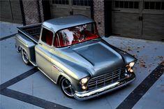 1955 CHEVROLET 3100 CUSTOM PICKUP - Barrett-Jackson Auction Company - World's Greatest Collector Car Auctions